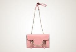 COCCINELLE - Celeste clutch... rosa!!!