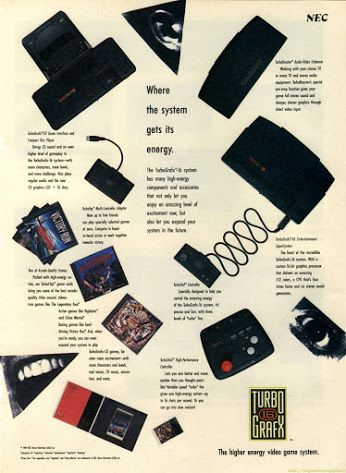 The turbografx 16, certainly may favorite console and gotta love all the classic Shumps.