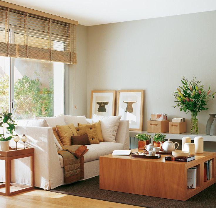 10 salones peque os muy bien decorados decoracion - Decoracion de salones pequenos ...