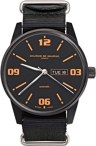 17 best images about automatic modern watch leather automatic modern watch from swiss watchmaker maurice de mauriac swiss watches for men mens