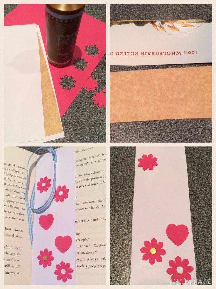 Handmade Paper bookmark