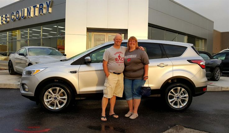 Michael and Susan, we're so excited for all the places you'll go in your 2017 FORD ESCAPE!  Safe travels and best wishes on behalf of Kunes Country Ford Lincoln of Delavan and MICHAEL GILLINGHAM.