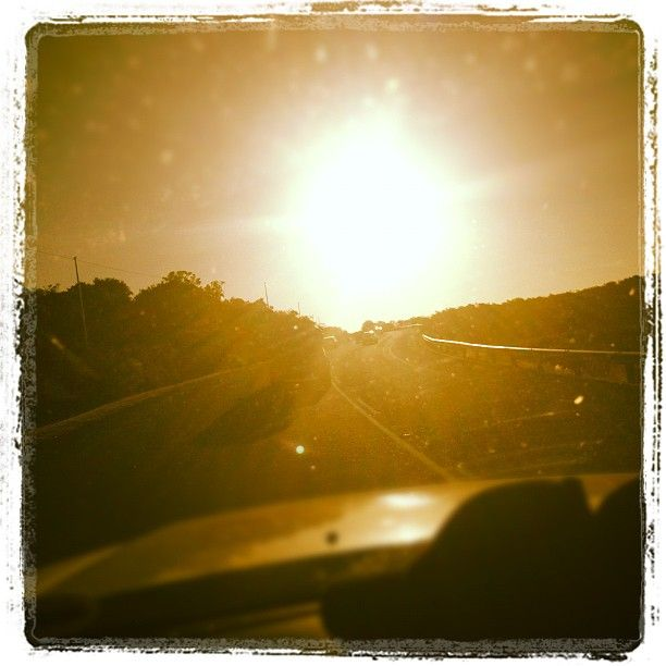 """Suns going down!"" - My #Instagram June 3, 2012"