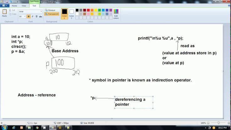 Pointer In C Language Example 1 Hindi Pointers Language Hindi