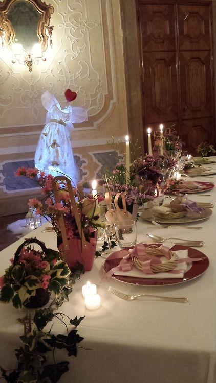 table setting -Hotel Castelbrando -Italy Elisa Zardo Interior & Events Designer www.elisazardo.com