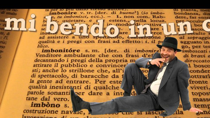 """Stefano Romano, """"L'imbonitore"""" [Germano Mandrillo]"""