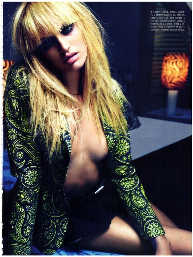 Be Bold: Candice Swanepoel by Mario Sorrenti for Vogue Italia March 2012