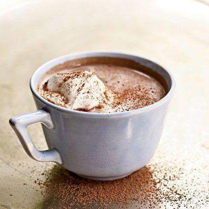 Барселонский горячий шоколад