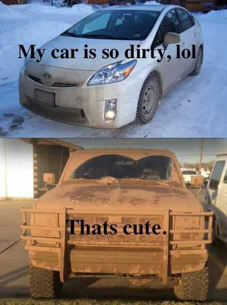 Haha my parents say that all the time... and guess what their car looks like! ;)