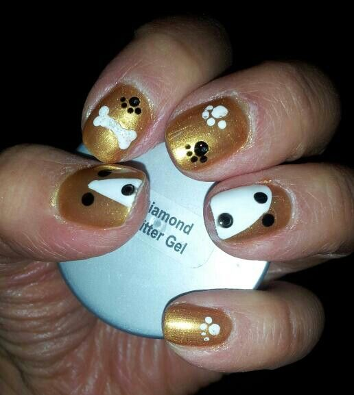 The 25 best dog nail art ideas on pinterest dog nails cute dog nail art prinsesfo Gallery