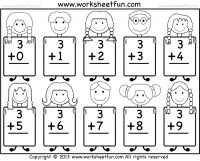 Beginner Addition- 9 Worksheets - Free Printable Worksheets - Worksheetfun