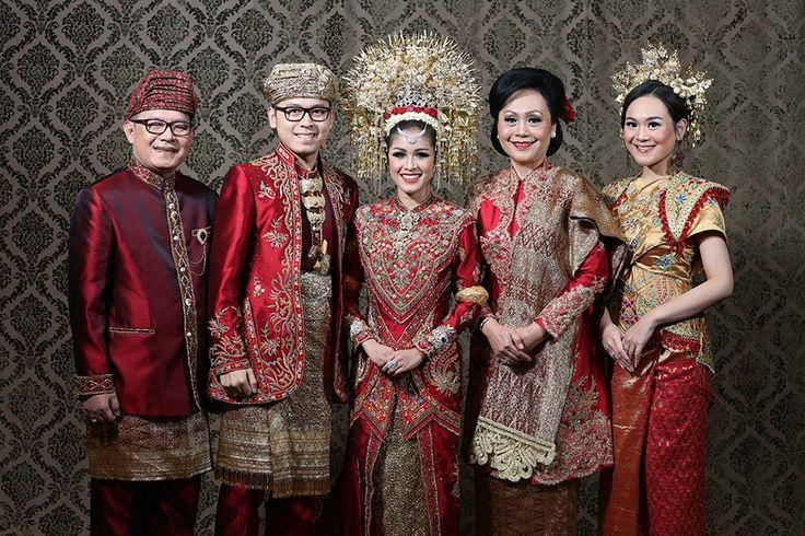 Traditional Minang and Palembang Wedding -