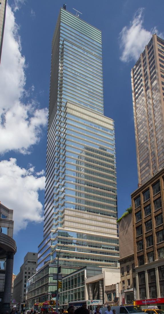Bloomberg tower cesar pelli associates new york usa for Bloomberg tower one beacon court