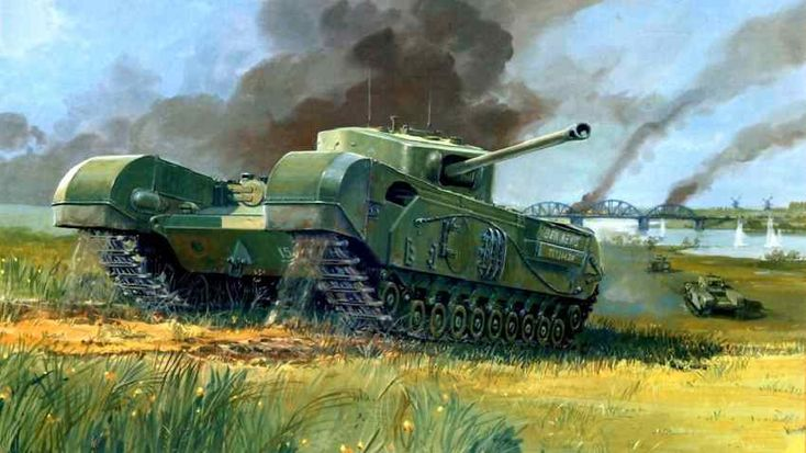 World War II: British Tank Churchill via @learninghistory