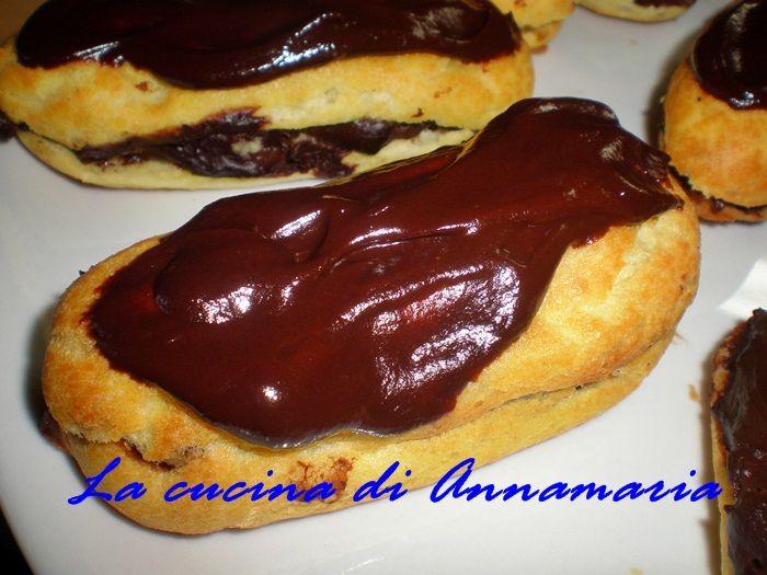 Eclair al cioccolato, ricetta francese