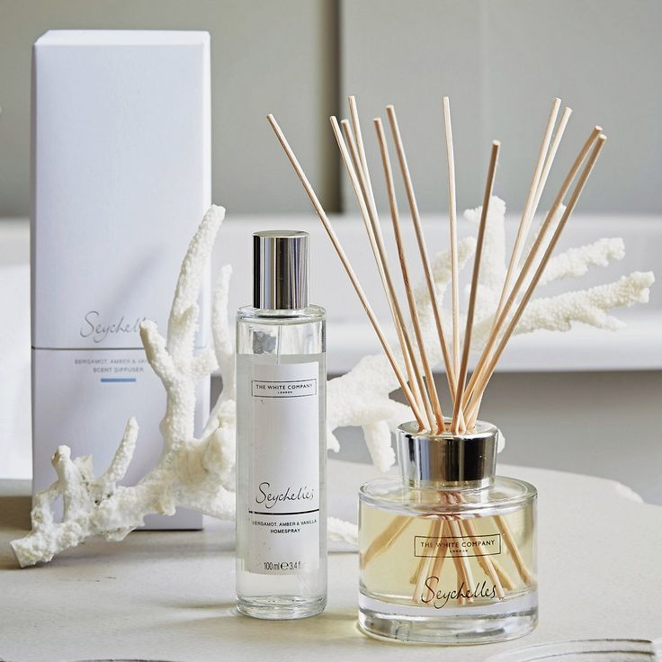 Seychelles Scent Diffuser - Diffusers & Room Sprays | The White Company