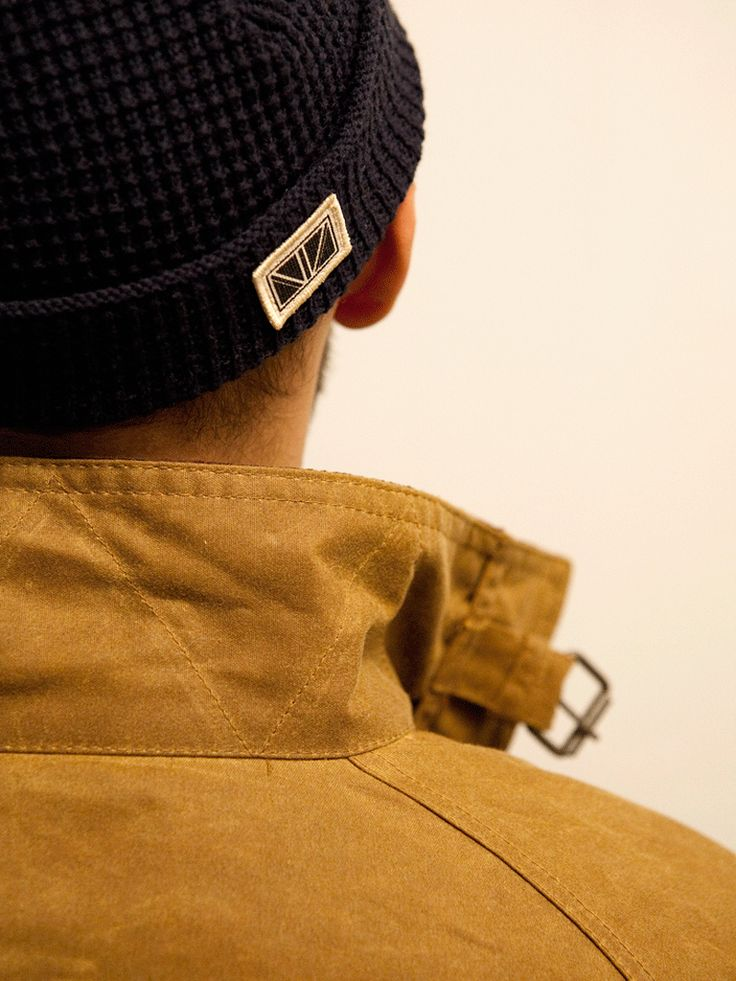 Brixtol - Cole Sand jacket & beenie