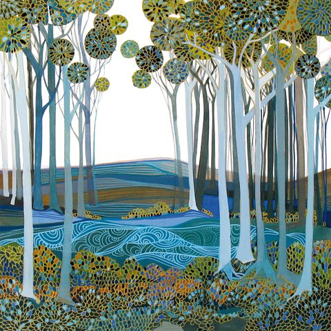 """""""Into The Forest"""" - by Melissa Launay"""