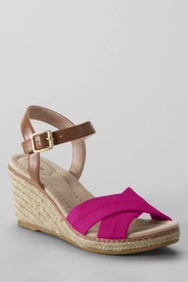 Women's Taylor Cross Strap Espadrilles Love Pink Shoes!