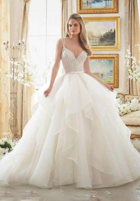 Mori Lee 2887 Brautkleid | MadameBridal.com – pinnme.com / … #Kleid #Lee #Mad …