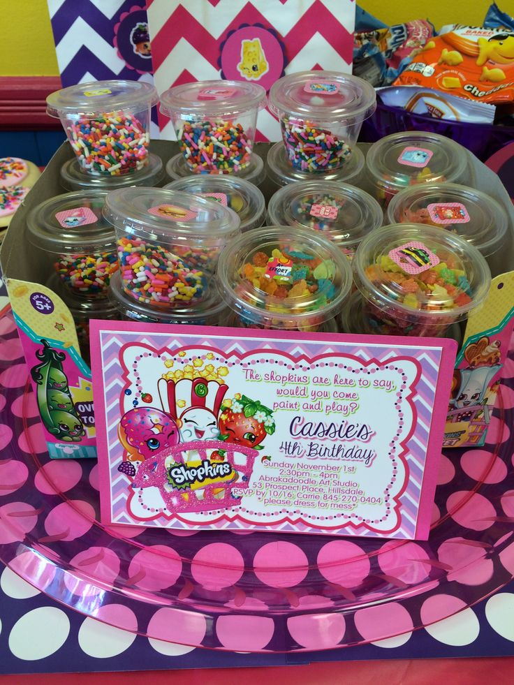 shopkins party invite