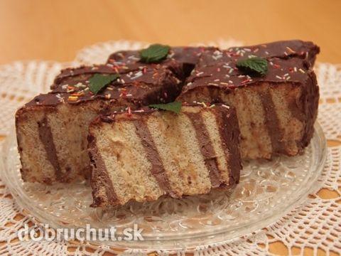 Metrový koláč z BeBe keksov
