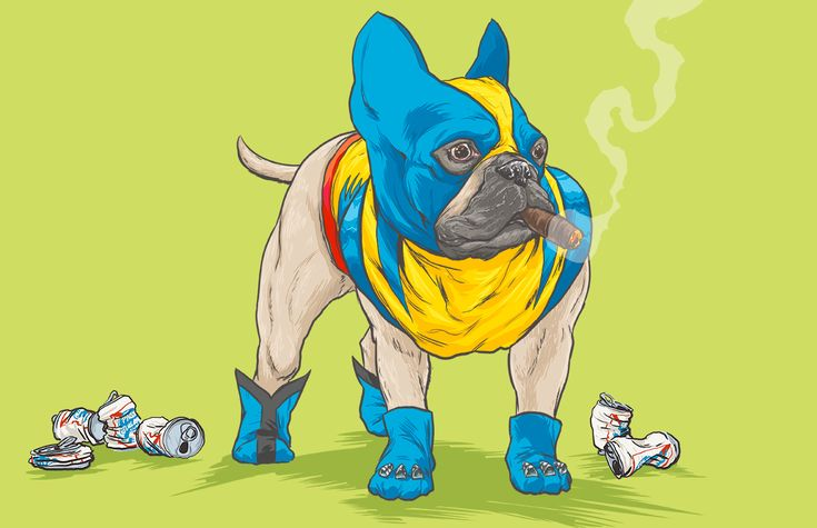 DOTMU: Dogs of the Marvel Universe on Behance