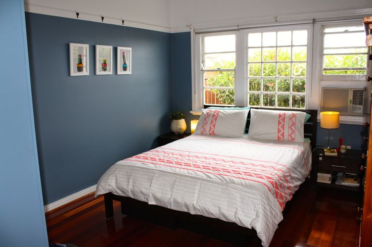 Peachy Keen Mumma blog, Master Bedroom renovation in Dulux Enterprise, with Studio Cockatoo prints