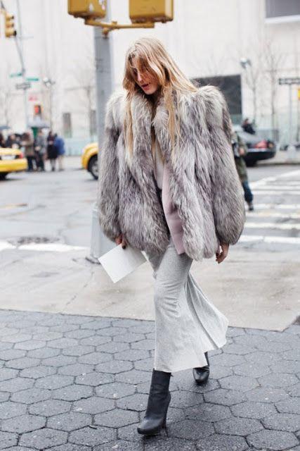 Ada & her amazing fur. NYC. #AdaKokosar