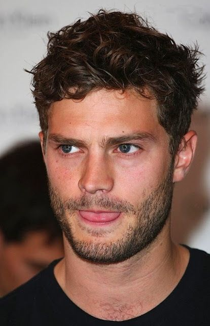 Jamie Dornan. The only reason I'm reading 50 shades of grey, to see the film with this man in come 2015. Beauuutiful man.