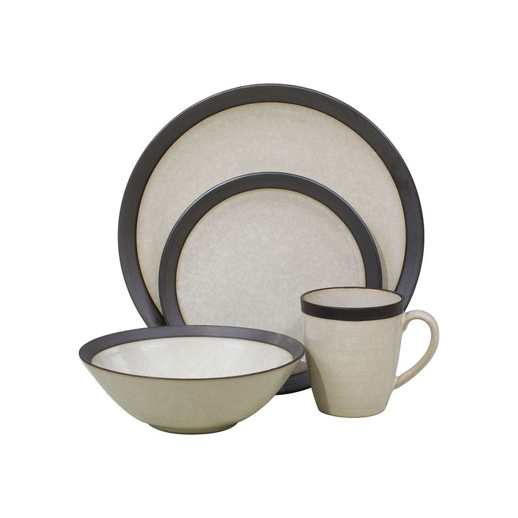 Sango Omega 16-pc. Dinnerware Set, White