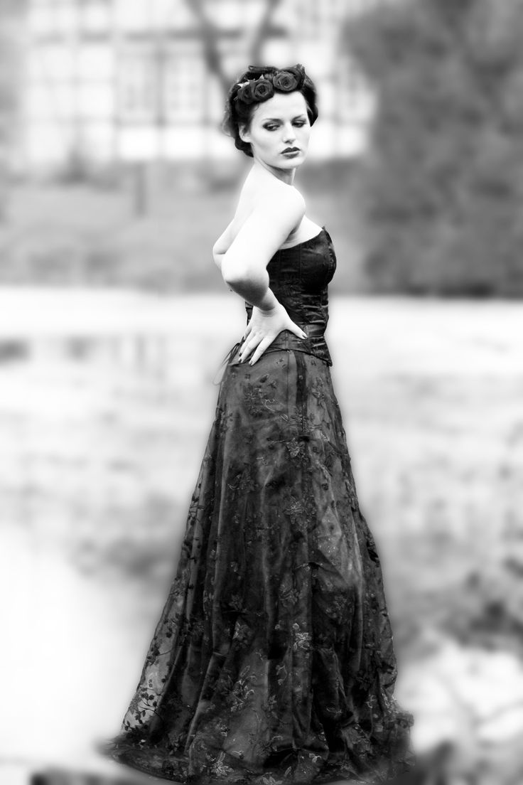See Kleid schön erhaben