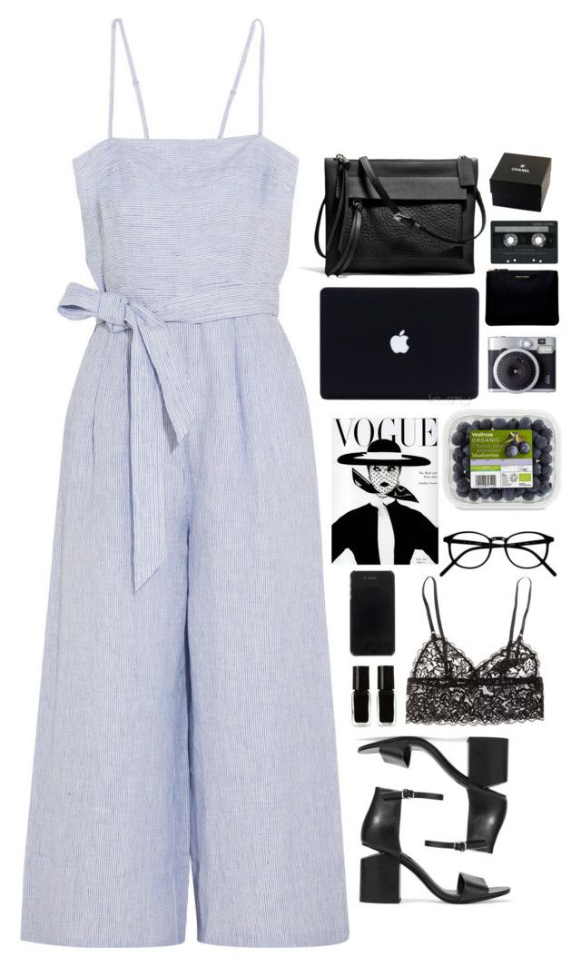 """Untitled #2904"" by wtf-towear ❤ liked on Polyvore featuring J.Crew, Alexander Wang, The New Black, H&M, Kenzo, Fujifilm, Comme des Garçons, Coach, CASSETTE and Chanel"