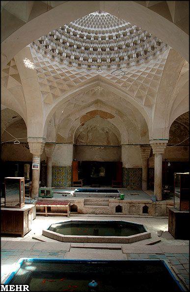 Ibrahim khan Historical Bath, Kerman, Iran