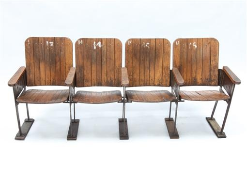 Vintage Archive | vintage cinema seats theatre seats