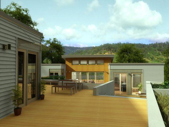 Architect-Designed Prefab Homes - Blu Homes