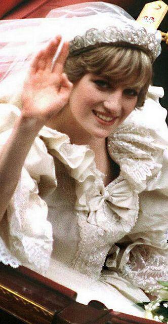 Princess Diana's hair was always spot on..