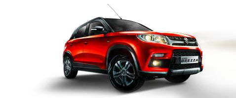 Maruti Suzuki offers best price range compact SUV in India. Maruti Suzuki Vitara Brezza is the most glamorous SUV at an affordable price. Brezza Price Starts at - 7.19 Lacs - 9.92 Lakh. Maruti Brezza engine capacity 1.3-litre DDiS200 diesel engine with the mileage of 24.29 Kmpl.
