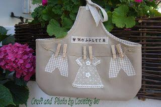 idea for clothespin peg bag
