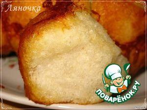 """Хлеб """"Обезьяний"""" с сыром и чесноком"""