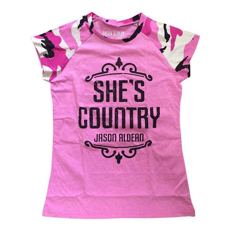 She's Country Women's Camo Shirt