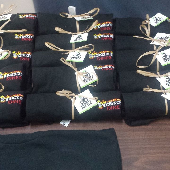 Rolled up and ready to go  #embroideredlogos #embroidery