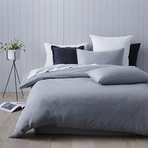 Ultra Soft Quilt Cover Grey Marble