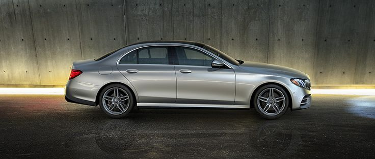 The Mercedes E300 Sedan in Iridium Silver with Sport Wheel Package A longer wheelbase, short overhangs and selective damping suspension add up to agile comfort. #Mercedes #Cars #Rides #Auto #iAUTOHAUS