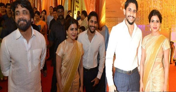 At Nimmagadda Prasad's daughter's marriage, both Nag Chaitanya and Samantha came…