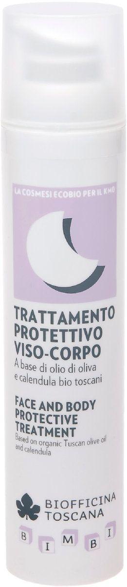 Biofficina Toscana Trattamento Protettivo Viso-Corpo. 100ml. A base di olio di oliva bio toscano e calendula.