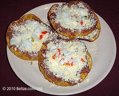 garnaches belizean food