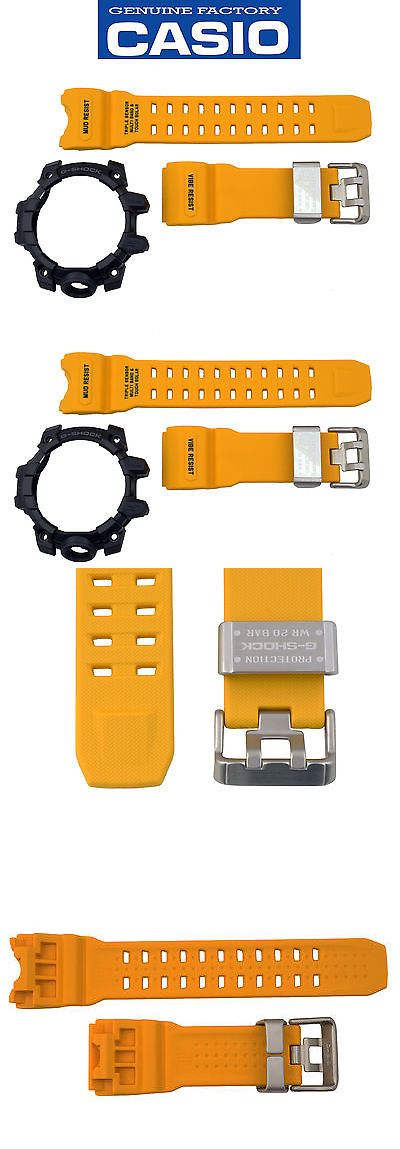 Bezels and Inserts 57714: Casio G-Shock Mudmaster Gwg-1000-1A9 Rubber Yellow Watch Band Black Bezel Set -> BUY IT NOW ONLY: $134.05 on eBay!