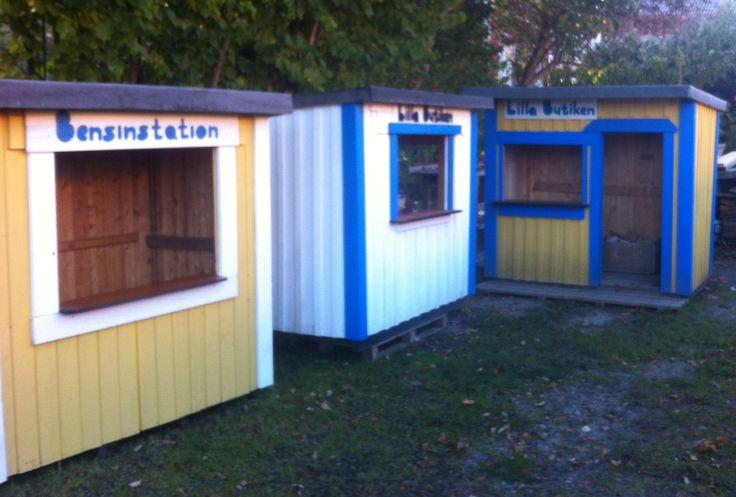 Lekstuga Factory Swedens playhouse maker www.lekfab.se
