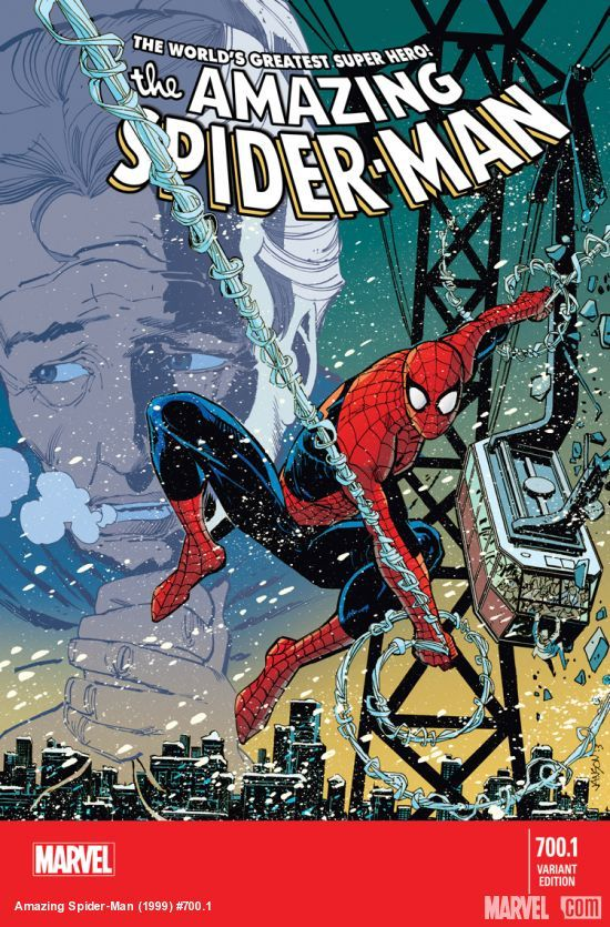 After a year of Superior Spider man's reign, Peter Parker has returned to comics in Amazing Spider man #700.1